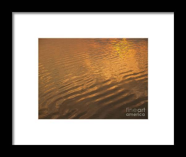 Sunrise Framed Print featuring the photograph Rhythmic Sea At Hunting Island by Anna Lisa Yoder