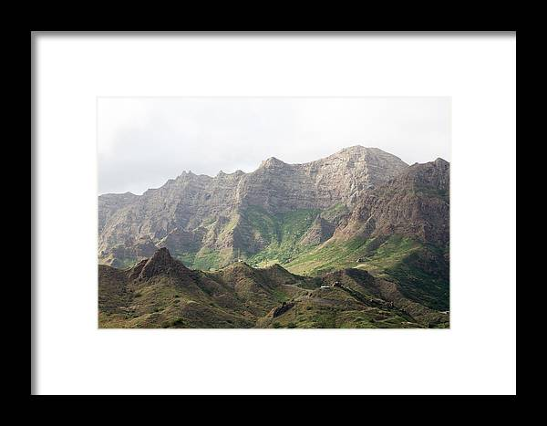 Landscape Framed Print featuring the photograph Ribeira Brava by Alexander Manykin