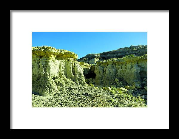 New Mexico Framed Print featuring the photograph Rigid New Mexico by Jeff Swan