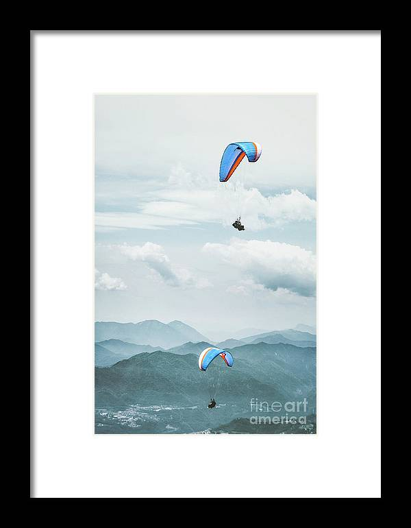 Kremsdorf Framed Print featuring the photograph Riding The Wind by Evelina Kremsdorf
