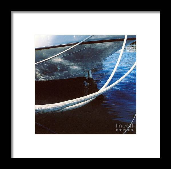 Peggy's Cove Framed Print featuring the photograph Rigging by Andrea Simon