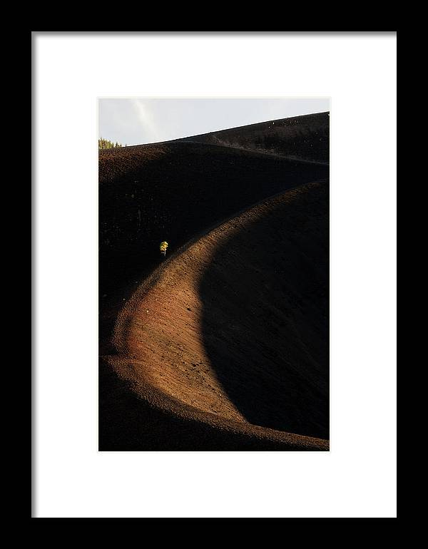 Lassen Framed Print featuring the photograph Ring Of Life by Dustin LeFevre