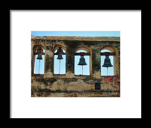 Ringing Bells Framed Print featuring the photograph Ringing Bells by Mariola Bitner