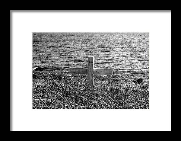 Graves Framed Print featuring the photograph RIP by Samantha Backhaus