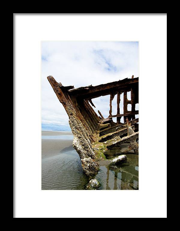 Shipwreck Framed Print featuring the photograph Ripple Effect by Jennifer Owen