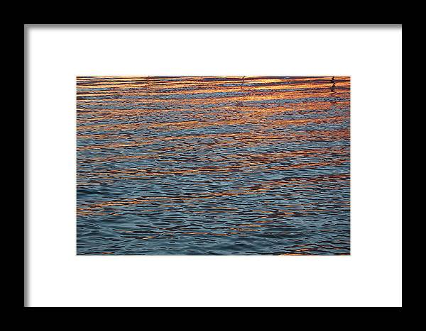 Water Framed Print featuring the photograph Ripples Of Zen by Daniel Ness
