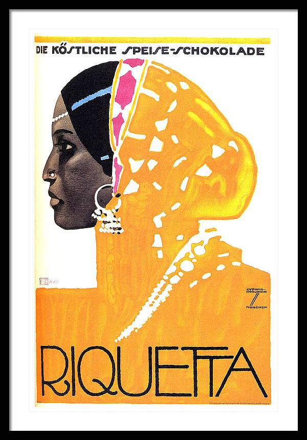 Riquetta - Food and Drink - Vintage Advertising Poster by Studio Grafiikka