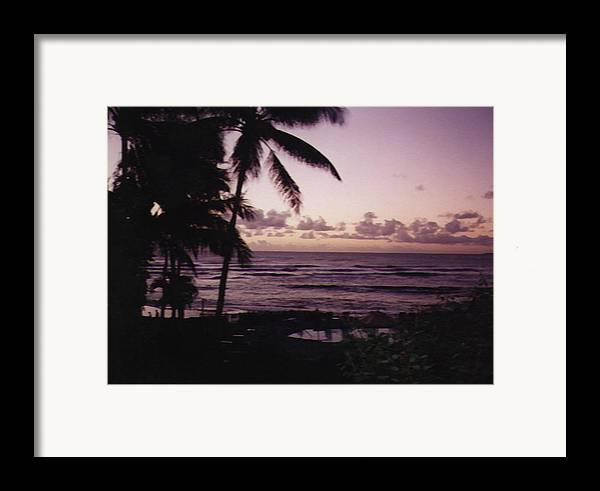 Hawaii Framed Print featuring the photograph Rise by Adam Wells