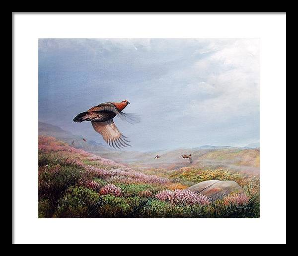 Rising Grouse by J Channell