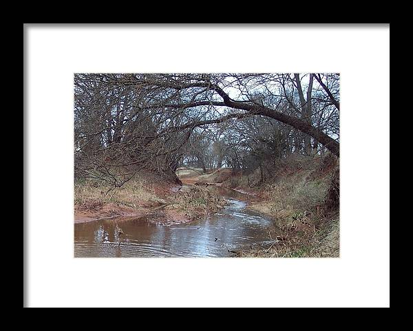 Landscapes Framed Print featuring the photograph Rivers Bend by Shari Chavira