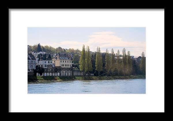 River Framed Print featuring the photograph Riverside Idyll by Ruth Ann Mertens