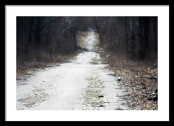 Road Framed Print featuring the photograph Road Less Traveled by Elliot Stombaugh