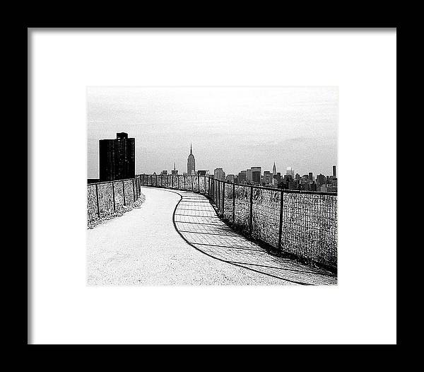 City Framed Print featuring the photograph Road To A City by Darryl Prevost