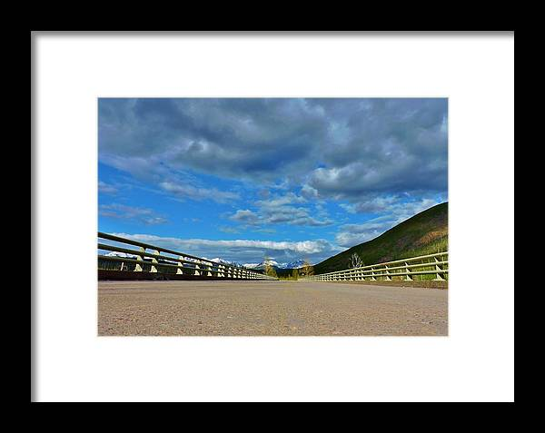 Landscape Framed Print featuring the photograph Road To Majesty by Eric Fellegy