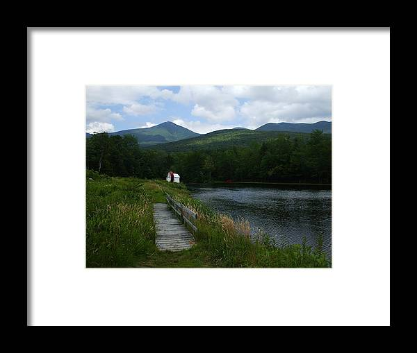 Water Wheel Framed Print featuring the photograph Road To Nowhere by John Prestipino