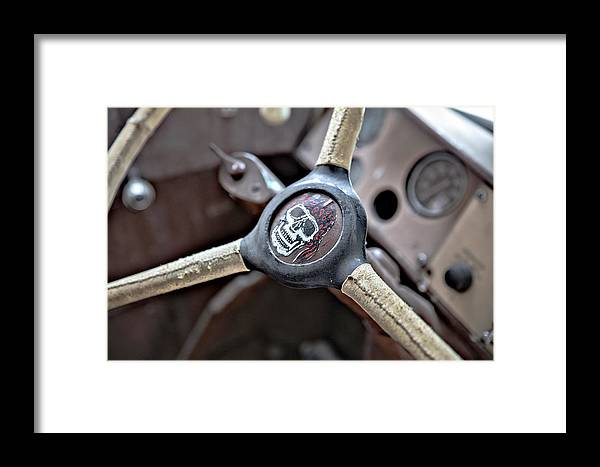 Wheel Framed Print featuring the photograph Road Trip by Nikki Vig