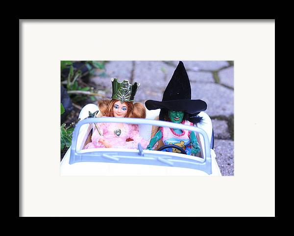 Wizard Of Oz Framed Print featuring the photograph Road Trip by Susie DeZarn