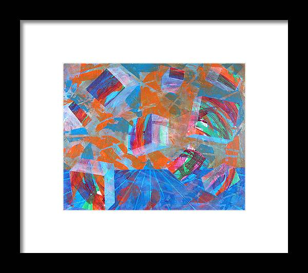 Rollin Kocsis Framed Print featuring the painting Rob by Rollin Kocsis