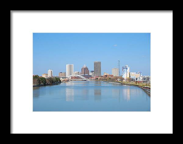 Rochester Framed Print featuring the photograph Rochester Ny by Monica Roche