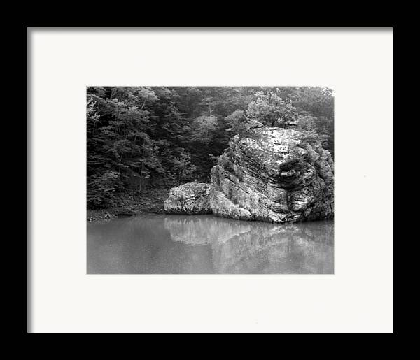 Rock Framed Print featuring the photograph Rock by Curtis J Neeley Jr