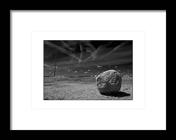 Landscape Framed Print featuring the photograph Rock by Filipe N Marques