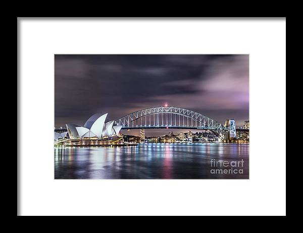 Kremsdorf Framed Print featuring the photograph Rock Into The Night by Evelina Kremsdorf