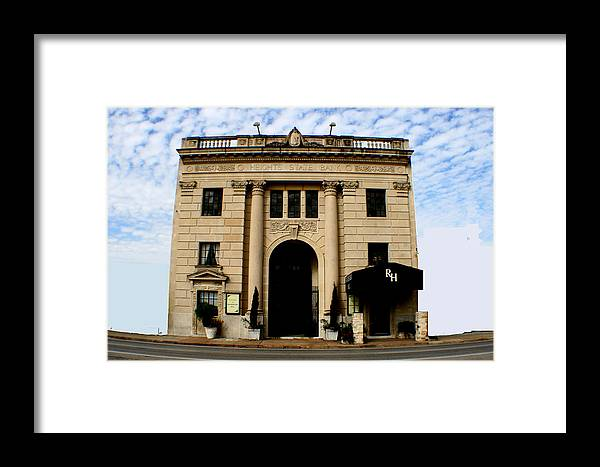 Architecture Framed Print featuring the photograph Rockefeller Hall by David Houston