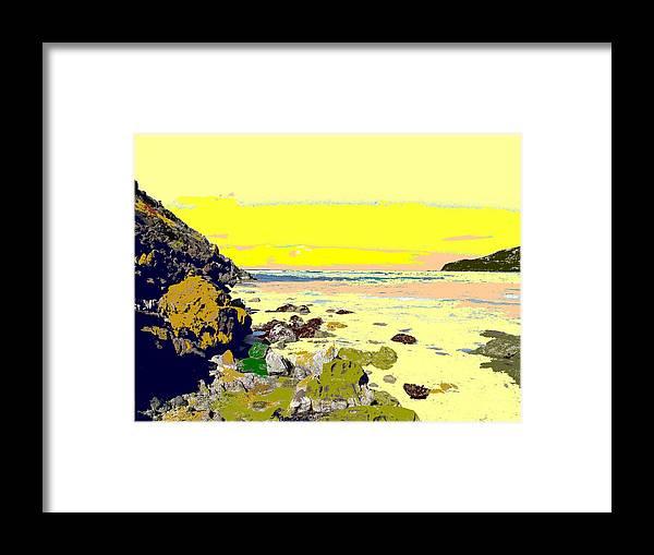 Beach Framed Print featuring the photograph Rocky Beach by Ian MacDonald