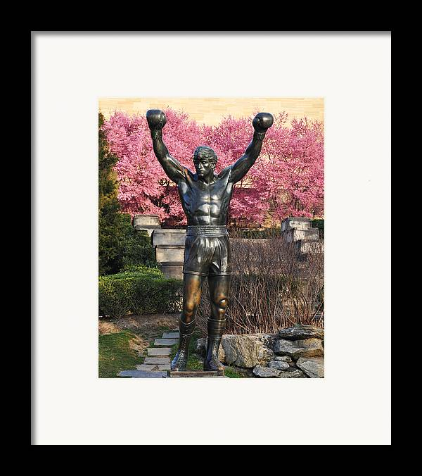 Rocky In Spring Framed Print featuring the photograph Rocky In Spring by Bill Cannon