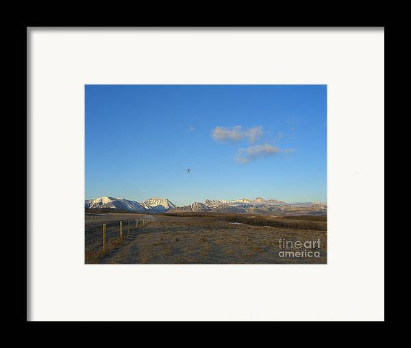 Rockies Framed Print featuring the photograph Rocky Mountain High by Jim Thomson