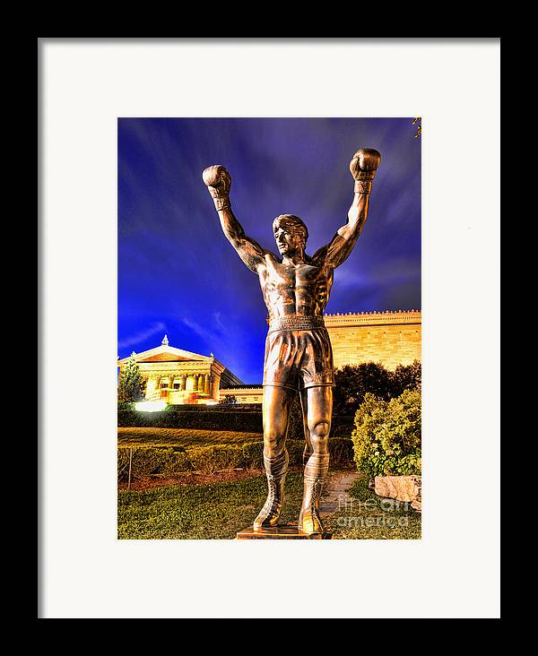 Rocky Framed Print featuring the photograph Rocky by Paul Ward