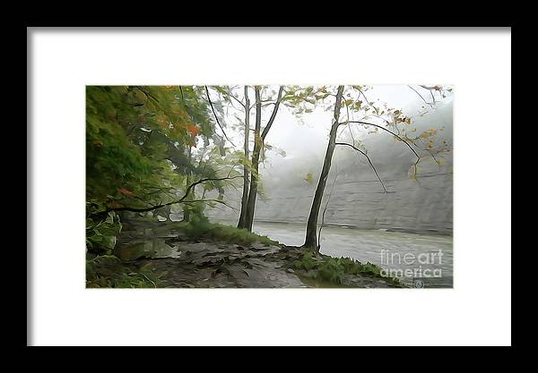 Landscape Framed Print featuring the photograph Rocky River #2 by Alexander Belisle