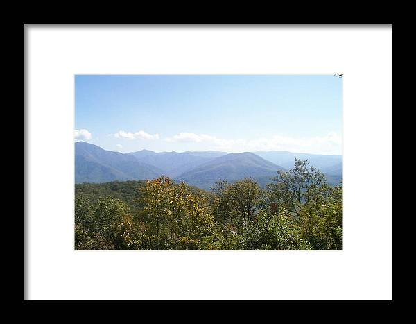 Mountains Framed Print featuring the photograph Rocky Top Tennessee 1 by Paula Ferguson
