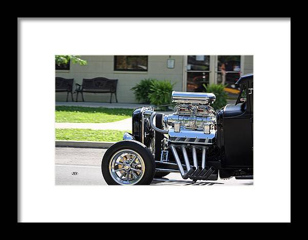 Framed Print featuring the photograph Rod by Jim Simms