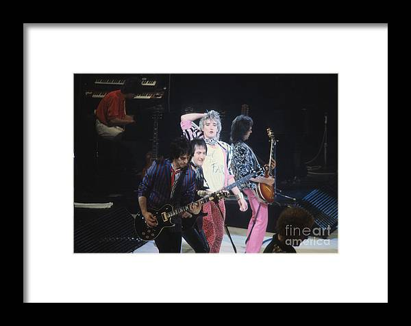 Rod Stewart Framed Print featuring the photograph Rod Stewart by David Bishop