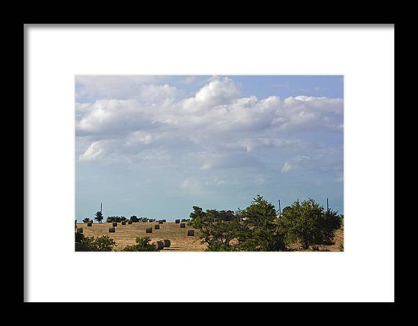 Landscape Framed Print featuring the photograph Roll Away by Melissa Millsap-Young