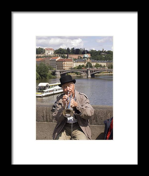 Prague Framed Print featuring the photograph Rollin Or The River by Charles Ridgway