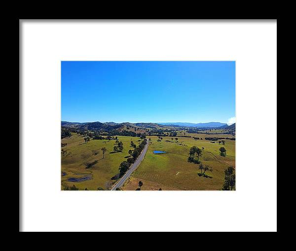 Framed Print featuring the photograph Rolling Hills by Aithyn Grove
