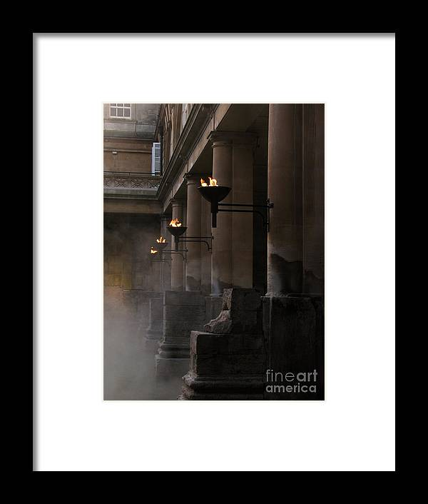 Bath Framed Print featuring the photograph Roman Baths by Amanda Barcon
