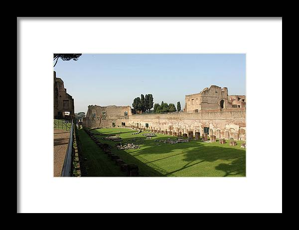 Rome Framed Print featuring the photograph Rome History by Munir Alawi