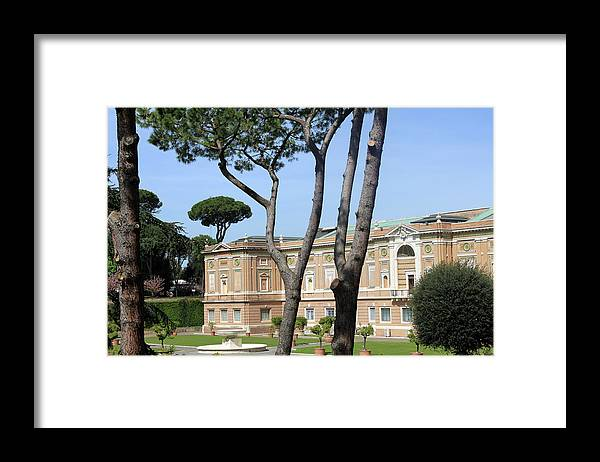 Museum Framed Print featuring the photograph Rome Museum by Munir Alawi