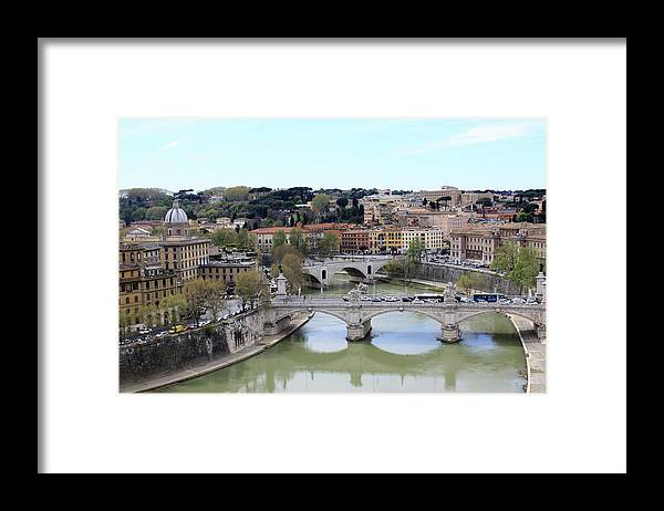Rome Framed Print featuring the photograph Rome River by Munir Alawi