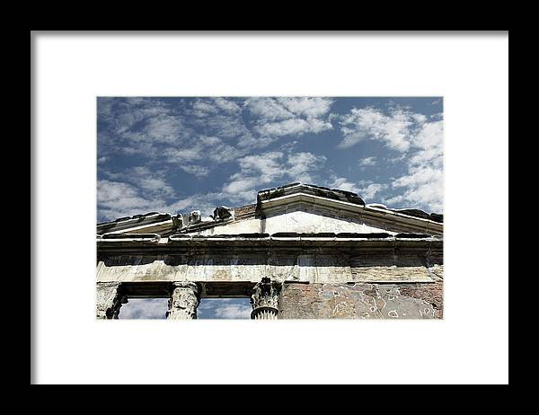 Rome Framed Print featuring the photograph Rome's Sky by Munir Alawi