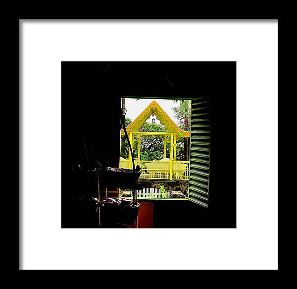 Romney Framed Print featuring the photograph Romney Manor by Ian MacDonald