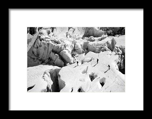 Rope Team Framed Print featuring the photograph Rope Team by Alasdair Turner