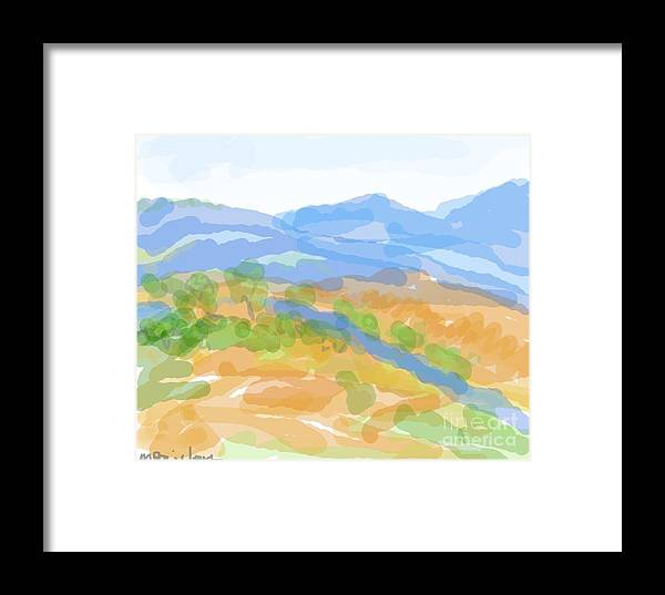 New Mexico Framed Print featuring the painting Rosario by Margot Paisley