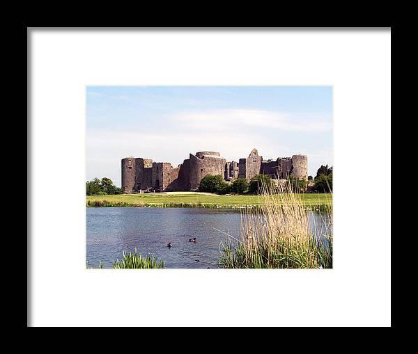 Roscommon Framed Print featuring the photograph Roscommon Castle Ireland by Teresa Mucha