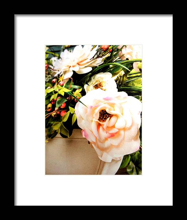 Flowers Framed Print featuring the photograph Rose by Lord Frederick Lyle Morris - Disabled Veteran