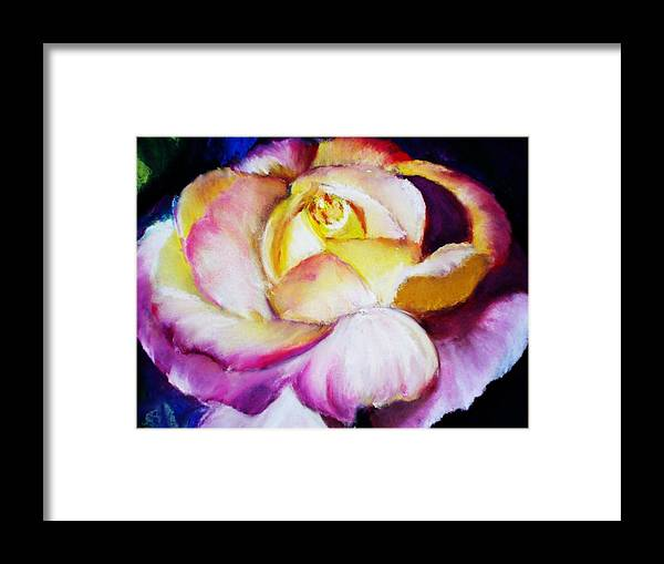 Rose Framed Print featuring the print Rose by Melinda Etzold