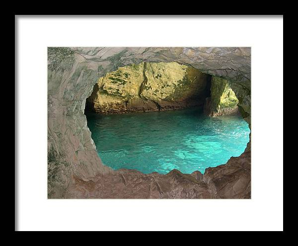 Israel Framed Print featuring the photograph Rosh Hanikra I by Susan Heller